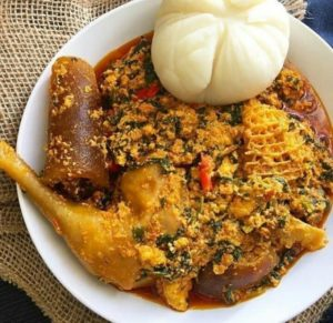 fufu and egusi